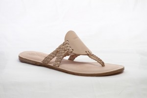 NUDE-DOUBLE STRAP-WOVEN-USA